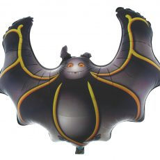 HALLOWEEN LILIAC BAT - BALON FOLIE FIGURNA, 60CM