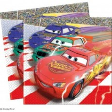 Cars Piston Cup Servetele