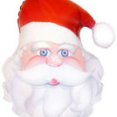 FATHER CHRISTMAS - BALON FOLIE FIGURINA CRACIUN, 80CM