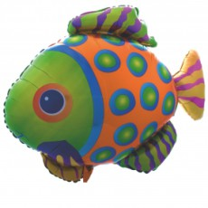 PEȘTE EXOTIC FISH - BALON FOLIE FIGURINA, 58CM