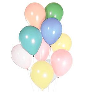 baloane pastel
