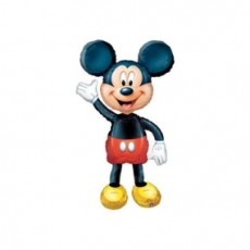 MICKEY MOUSE AIRWALKER - BALON FOLIE FIGURINA, INALTIME 134CM