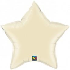 STAR IVORY QUALATEX, BALON FOLIE, 50CM