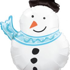 BALON FOLIE CRACIUN SNOWMAN 76CM