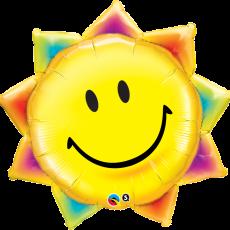 SUN SMILEY - BALON FOLIE, FORMA SOARE, 89CM