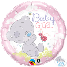 BALON FOLIE TINY TATTY TEDDY GIRL 45CM