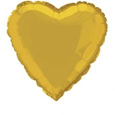 HEART GOLD, BALON FOLIE, 35CM