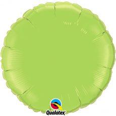ROUND LIGHT GREEN QUALATEX - BALON FOLIE, FORMA ROTUNDA, DIAM. 45CM