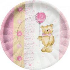 Tedy Bear Pink Farfurii