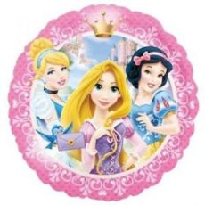 PRINCESS PINK - BALON FOLIE, FORMA ROTUNDA, DIAM. 45CM
