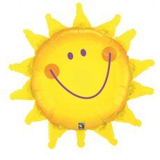 SUNSHINE SMILE - BALON FOLIE, FORMA SOARE, DIAM. 89CM