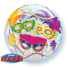 MASQUE BUBBLES - BALON FOLIE, FORMA ROTUNDA, DIAM. 56CM