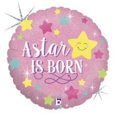 A STAR IS BORN GIRL, BALON FOLIE, 45CM