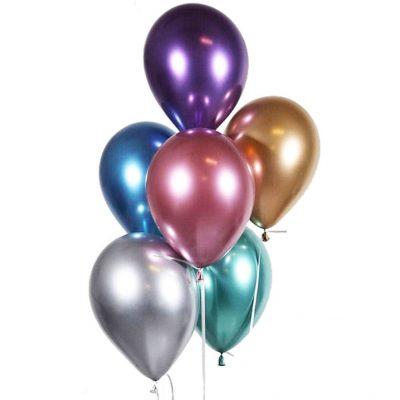 chrome baloane