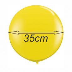 BALOANE LATEX PASTEL - FORMA ROTUNDA, DIAM. 35cm, SET DE 50 BUC.