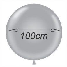 BALOANE LATEX METALIZATE - FORMA ROTUNDA, DIAM. 100CM, 1 BUC.