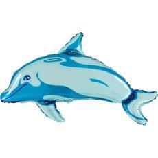 DELFIN BLUE DOLPHIN - BALON FOLIE FIGURINA, 80CM
