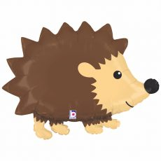 ARICI WOODLAND HEDGEHOG - BALON FOLIE FIGURINA, 76CM
